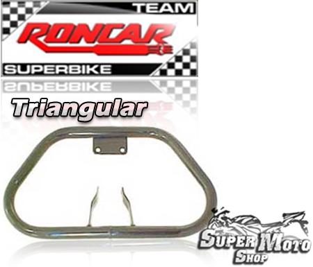 Protetor de Motor Triangular Preto - XL / XLX 250