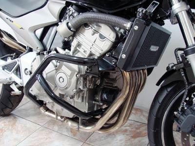 Protetor de Motor / Mata Cachorro Modelo Envolvente CB Hornet 600 até 2007 - Preto - Honda