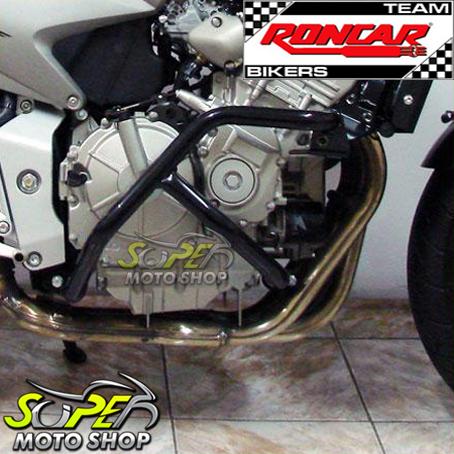 Protetor de Motor / Mata Cachorro Modelo Envolvente CB Hornet 600 até 2007 - Prata - Honda