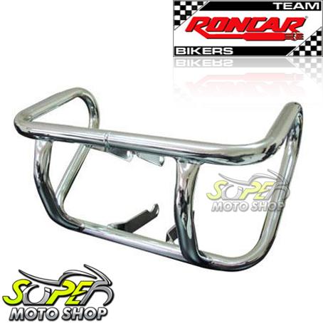 Protetor de Motor / Mata Cachorro Modelo Francês Twister CBX 250 - Cromado - Honda