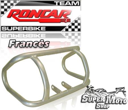 Protetor de Motor Modelo Francês Prata - STX 200 / Motard