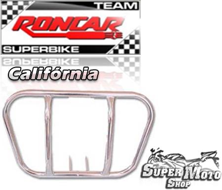 Protetor de motor modelo califórnia Cromado - Flash 150