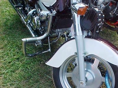 Protetor de Motor / Mata Cachorro Modelo Wild Style Cromado - Mirage 250 Todos os Anos - Kasinski