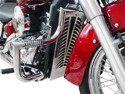 Protetor de Motor / Mata Cachorro Modelo Wild Style Cromado - Shadow 750 até 2010 - Honda