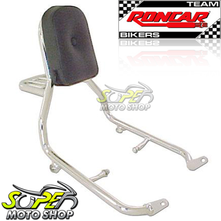 Sissy Bar / Encosto Traseiro Roncar COM Bagageiro Tubular Shadow 600 - Honda