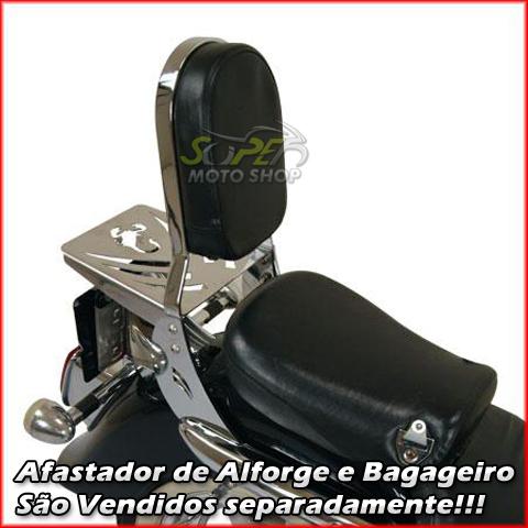 Sissy Bar / Encosto Traseiro Roncar COM Bagageiro Tubular Mirage 250 - Kasinski