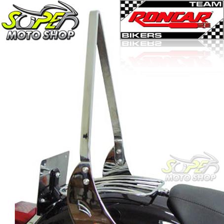 Sissy Bar / Encosto Traseiro Roncar Modelo FreeWay HD Sporster XL 883 / 1200 ano 2004 em Diante - Harley Davidson