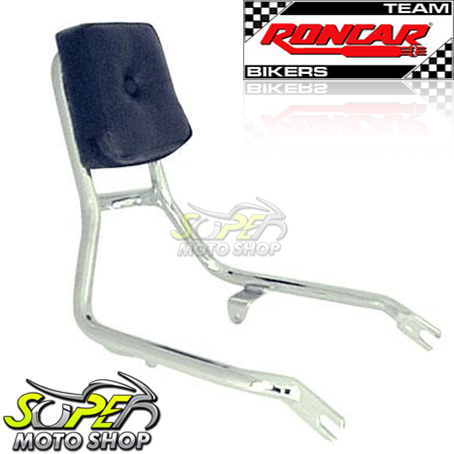 Sissy Bar / Encosto Traseiro Roncar Tubular Shadow 600 - Honda