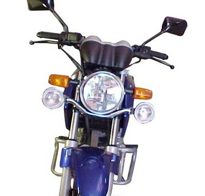 Jogo de Farol Auxiliar Kit Suporte + Faróis Cromados CBX Twister 250 - Honda