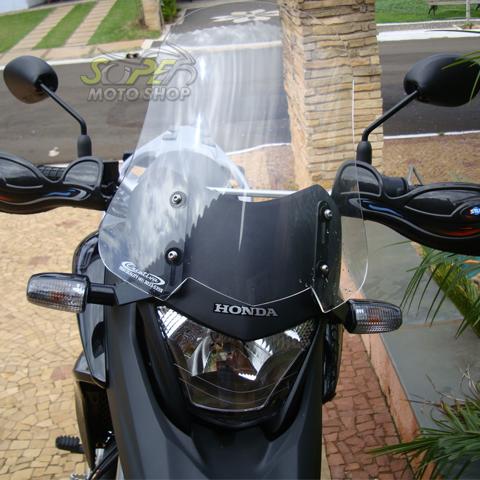 Bolha / Parabrisa Criativa Acessórios Modelo 42cm com Regulagem - XRE 300 - Honda