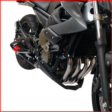 Escape / Ponteira Coyote TRS Tri-Oval 250mm Alumínio + Curva 4x2x1 em Inox - XJ6 N & F - Yamaha