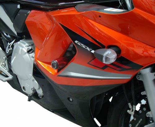 Slider Dianteiro Anker - Anodizado - GSX 650 F - Suzuki