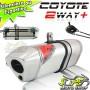 Escape / Ponteira Coyote TRS 2 Way + Mais Alumínio XTZ Lander 250 - Polido - Yamaha - Super Moto Shop