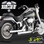 Escapamento Vance & Hines Straightshots - Cromado - Softail 1986 - 2011 - Super Moto Shop