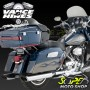 Ponteira Vance & Hines Twin Slash Monster - Cromada - Touring 1995 - 2016 - Super Moto Shop