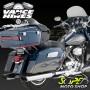 Ponteira Vance & Hines Twin Slash Monster - Cromada - Touring 1995 - 2016 - Super Moto Shop