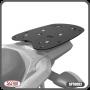 Bagageiro / Base Scam para Bauleto Traseiro Preto - Crosser XTZ 150 - Yamaha - Super Moto Shop