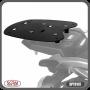 Bagageiro / Base Scam para Bauleto Traseiro Preto - Tenere 250 ano 2016 até 2018 - Yamaha - Super Moto Shop