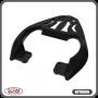 Bagageiro / Suporte Liga Leve SCAM em Prata ou Preto - Apache 150 - Dafra - Super Moto Shop