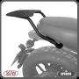 Bagageiro / Base Scam para Bauleto Traseiro Preto - Scrambler 800 ano 2016 em Diante - Ducati - Super Moto Shop