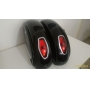 Baú / Bauleto (Alforge) Lateral (PAR) + Suporte Bult Modelo LN - Com Lanternas - Super Moto Shop
