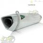 Escape / Ponteira Wacs Modelo Prime Alumínio - CB 600 / CBR 600 F Hornet 2008 até 2014 - Honda - Super Moto Shop