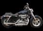"Ponteiras Esportivas Torbal Modelo 3"" Corte Lateral - Sportster XL 1200 até 2013 - Harley Davidson - Super Moto Shop"