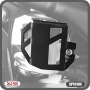 Protetor / Capa do Reservatório de Freio Traseiro Scam Preto - Lander 250 até 2018 - Yamaha - Super Moto Shop