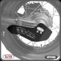 Protetor de Eixo Cardan Scam Preto - Super Tenere 1200 - Yamaha - Super Moto Shop