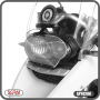 Protetor de Farol e de Radiador Modelo Scam Preto - R 1200 GS ano 2008 até 2012 - BMW - Super Moto Shop