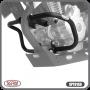 Protetor de Motor / Carenagem Scam Com Pedaleira - Twister CB 250 ano 2015 em Diante - Honda - Super Moto Shop