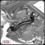 Protetor de Motor / Carenagem Scam Preto Modelo Alça - MT-03 ano 2016 em Diante - Yamaha - Super Moto Shop
