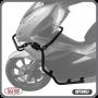 Protetor de Motor e Carenagem Scam Preto - PCX 150 ano 2019 em Diante - Yamaha - Super Moto Shop