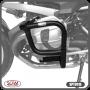 Protetor de Motor Scam Preto ou Prata - R 1200 GS até 2012 - BMW - Super Moto Shop