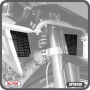 Protetor de Radiador Scam Preto - R 1250 GS ano 2019 em Diante - BMW - Super Moto Shop