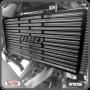 Protetor de Radiador Scam Preto - Versys 650 2010 até 2014 - Kawasaki - Super Moto Shop
