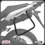 Suporte / Afastador Alforge Lateral Scam em Tubo - Lander 250 ABS ano 2019 em Diante - Yamaha - Super Moto Shop
