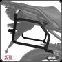 Suporte / Afastador Alforge Lateral Scam - Versys 1000 ano 2015 em Diante - Kawasaki - Super Moto Shop