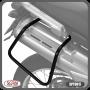 Suporte / Afastador Alforge Lateral Scam em Tubo - Tenere 250 2011 até 2015 - Yamaha - Super Moto Shop