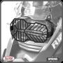 Protetor de Farol Scam em Aço Carbono Preto - R 1250 GS ano 2019 em Diante - BMW - Super Moto Shop