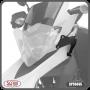 Protetor de Farol Scam em Policarbonato - Lander 250 ABS ano 2019 em Diante - Yamaha - Super Moto Shop