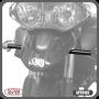 Suporte de Farol Auxiliar Modelo Scam Preto - Tiger 800 Todos os Anos - Triumph - Super Moto Shop