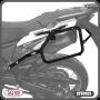 Suporte Lateral Scam para Bauletos Laterais Preto - Africa Twin 1000 - Honda - Super Moto Shop