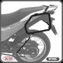 Suporte Lateral Scam para Bauletos Laterais Preto - Bros NX-R 160 - Honda - Super Moto Shop