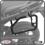 Suporte Lateral Scam para Bauletos Laterais Preto - F 850 / 750 GS - BMW - Super Moto Shop