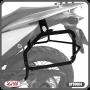 Suporte para Bau / Bauletos Lateral Scam - Transalp 700 - Honda - Super Moto Shop
