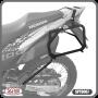 Suporte para Bau / Bauletos Lateral Scam - XRE 300 - Honda - Super Moto Shop