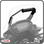 Suporte para GPS Scam Preto - CB 500 X até 2015 - Honda - Super Moto Shop