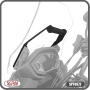 Suporte para GPS Scam Preto - CB 500 X - Honda - Super Moto Shop