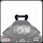Suporte para GPS Scam Preto - Versys X 300 - Kawasaki - Super Moto Shop